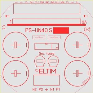 ELTIM PS-UN40S HQ LP, Voedingsmodule +/-42V. 4A max.<br />Price per piece