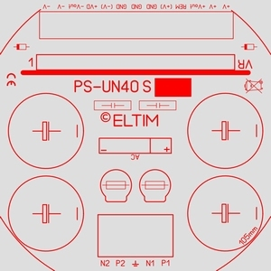 ELTIM PS-UN40S HQ LP, Netzteil Modul, +/-42V, 6A max.<br />Price per piece