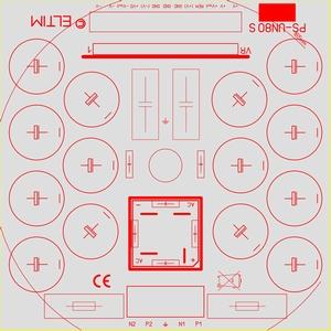 ELTIM PS-UN80S RQ LP, Power Supply +/-100V, 15A max