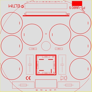 ELTIM PS-UN80S RQ, Power Supply +/-80V, 25A max