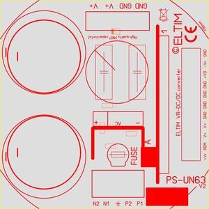 ELTIM PS-UN63RQ , Voedingsmodule, 63V, 8A max<br />Price per piece