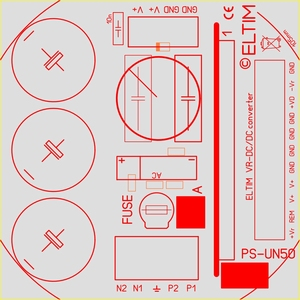 ELTIM PS-UN50RQ LP , Power Supply module, 40V, 6A max