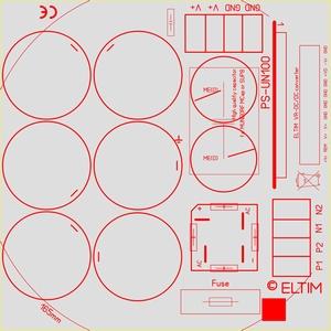 ELTIM PS-UN100PRO, Power Supply module, 100V, 25A max