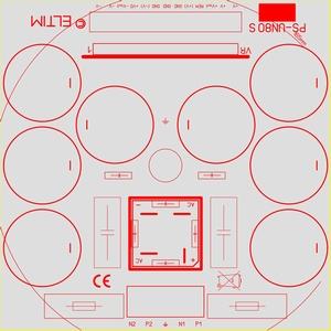 ELTIM PS-UN80S HQ+, Power Supply +/-80V, 25A max