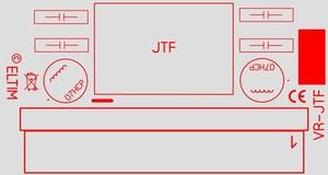 ELTIM VR-JTF08, Voltage converter/regulator module, 8W<br />Price per piece