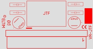 ELTIM VR-JTF15, Spannung Konverter/Regler Modul, 15W<br />Price per piece