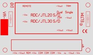 ELTIM VR-RDC30, Voltage converter/regulator module, 30W<br />Price per piece
