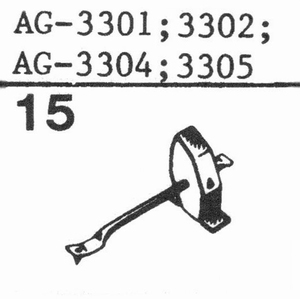 PHILIPS AG-3301 Stylus, ss<br />Price per piece