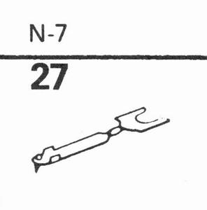 ASTATIC N-7 (78 RPM SAPPHIRE), SN<br />Price per piece