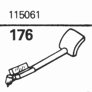 R.C.A. 115061, stylus, sapphire, stereo
