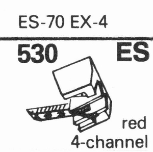 EXCEL ES-70-EX-4 Stylus, SHIBATA<br />Price per piece