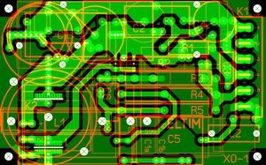 ELTIM universelle Weichenplatine, 100x160mm, 70um verzinnt<br />Price per piece