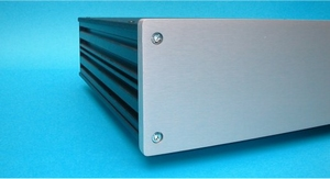 MODU Galaxy Maggiorato 10mm gebürstete aluminium Frontplatte<br />Price per piece