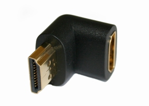 KACSA AA706G, 90º angled HDMI adapter<br />Price per piece