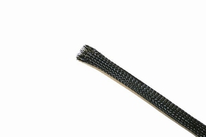 KACSA Snake skin, black, 7-20mm<br />Price per meter