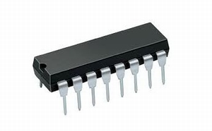 74C42,    DIP16, IC, CMOS,<br />Price per piece