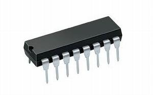 74C42,    DIP16, IC, CMOS,