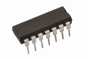 74LS03,    DIP14, IC, TTL,<br />Price per piece