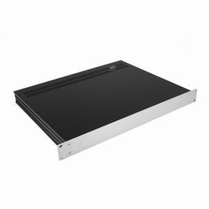 """MODU Slimline 1SL01350B, 1U/19"""" Silber Front, 350mm Tief<br />Price per piece"""