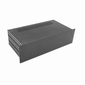 "MODU Slimline 1SL03230N, 3U/19""  black front, 230mm deep<br />Price per piece"