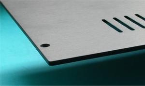 MODU Slimline series  alu Obenplatte, oxidiert, 230mm<br />Price per piece