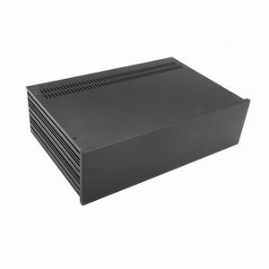 MODU Slimline 1NSL03280N, 10mm zwart front, 280mm diep<br />Price per piece