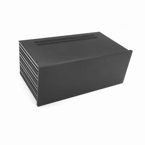 MODU Slimline 1NSL04230N, 10mm zwart front, 230mm diep<br />Price per piece