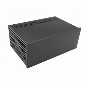 MODU Slimline 1NSL04280N, 10mm  black front, 280mm deep<br />Price per piece