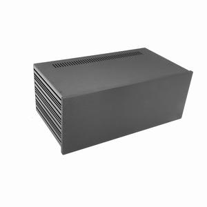 MODU Slimline 1NSLA04230N, 10mm zwart front, FA, 230mm diep<br />Price per piece