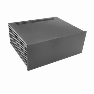 MODU Slimline 1NSLA04350N,10mm black front, FA, 350mm deep<br />Price per piece