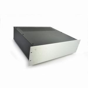 "MODU Pesante 1PS03P400B, 3U/19"" silver front, 400mm deep<br />Price per piece"