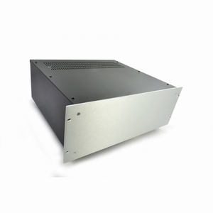"MODU Pesante 1PS04P400B, 4U/19""  silver front, 400mm deep<br />Price per piece"