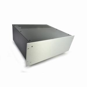 "MODU Pesante 1PS04P400B, 4U/19""  silver front, 400mm deep"