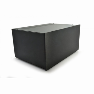 MODU Pesante 1NPS05PN, 10mm zwart front, diepte 300mm<br />Price per piece