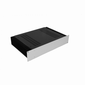 "MODU Dissipante 1PD02300B, 2U/19"" Silber Front, Tiefe 300mm<br />Price per piece"