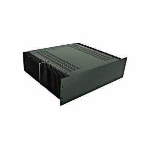 """MODU Dissipante 1PD03400N, 3U/19"""" zwart front, diepte 400mm<br />Price per piece"""