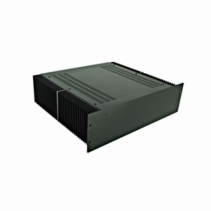 "MODU Dissipante 1PD03400N, 3U/19""  black front, 400mm deep"