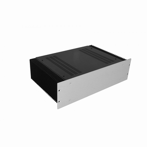 "MODU Dissipante 1PD03300B, 3U/19""  silver front, 300mm deep<br />Price per piece"