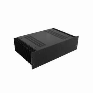 "MODU Dissipante 1PD03300N, 3U/19""  black front, 300mm deep<br />Price per piece"