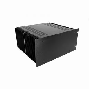 "MODU Dissipante 1PD05400N, 5U/19""  black front, 400mm deep<br />Price per piece"