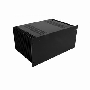 "MODU Dissipante 1PD05300N, 5U/19""  black front, 300mm deep<br />Price per piece"