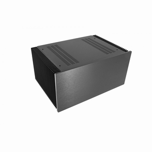 MODU Dissipante 1NPD04300N, 10mm  black front, 300mm deep<br />Price per piece