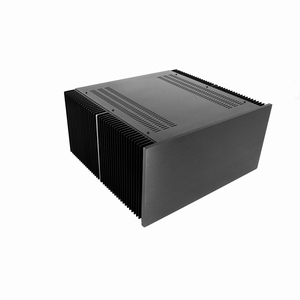 MODU Dissipante 1NPD04400N, 10mm  black front, 400mm deep<br />Price per piece