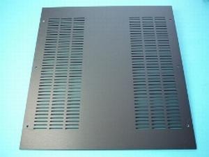 MODU Pesante Dissipante series alu top cover, black, 400mm<br />Price per piece