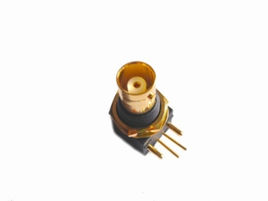 KACSA VC050G, BNC inlet, gold plated, PCB mount<br />Price per piece