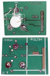 ELTIM IO-80 LINE input/output module, 80x100mm<br />Price per piece