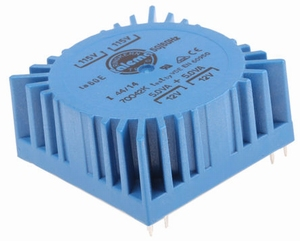 TALEMA Toroidal transformer, 10VA, 2x115V>2x12V<br />Price per piece