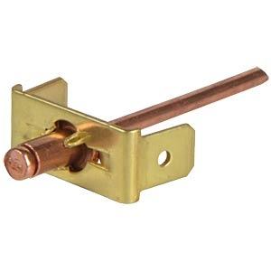 Faston Earth pin, 2-pole, 6,3mm, <br />Price per piece