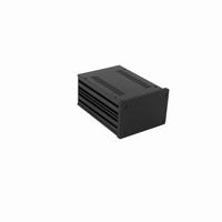 MODU 1NGX187N, Galaxy  cabinet, 10mm front black, 124x170x82