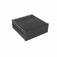 MODU 1NGX283N, Galaxy  cabinet, 10mm front black, 230x230x82
